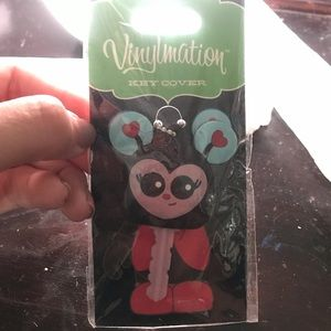 NWT Disney's Vinylmation Key Cover Mickey/ladybug